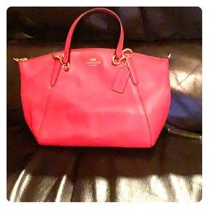 Beautiful red Coach purse new with tags